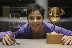 Imagen del reportajeAndrea Alonso, una mujer con la nariz de oro